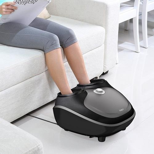 Appareil de réflexologie massage pour pieds NAIPO avec massage shiatsu profond