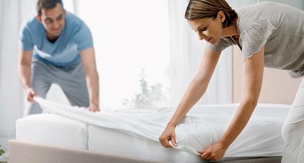 Protège matelas alèse pour drap housse