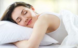 sommeil confortable avec un oreiller cervical