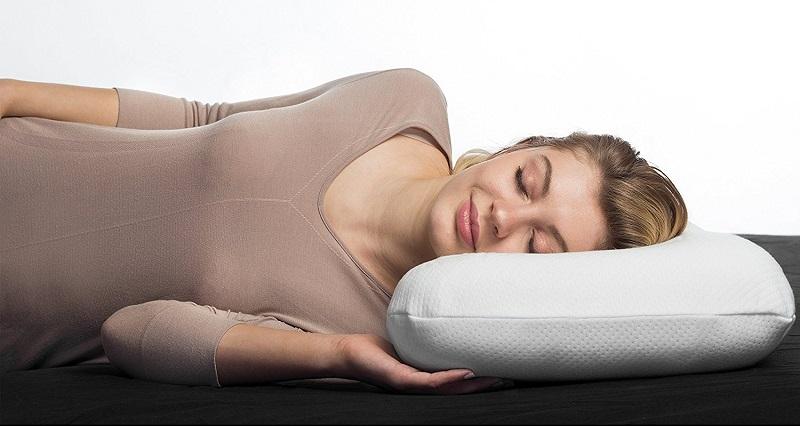 Coussin Aloe Vera NuMOON oreiller cervical à mémoire de forme