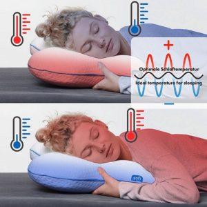 meilleur oreiller ergonomique sofi avec bonne température