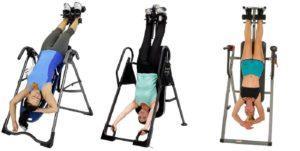 choisir une table d'inversion pour soulager les maux de dos