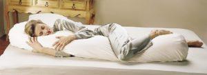 dormir avec un traversin mémoire de forme pas cher